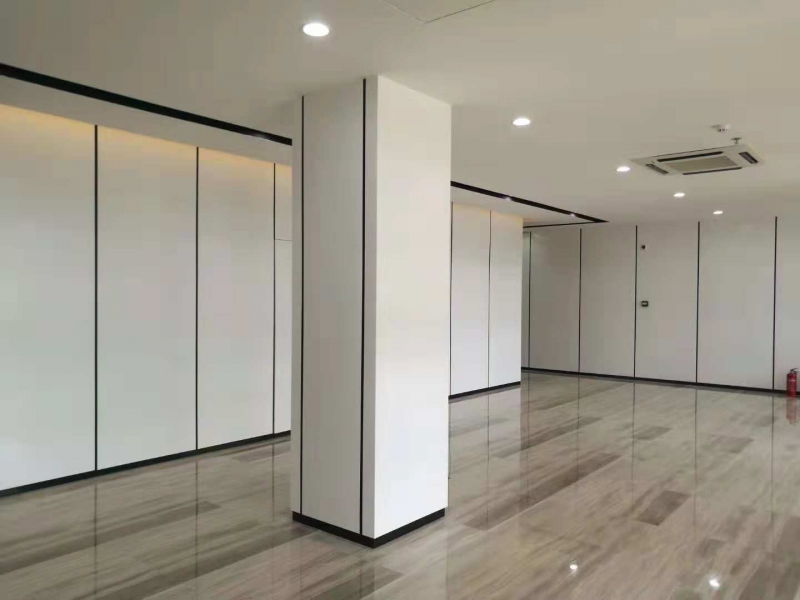 天瑞烤瓷铝板做办公楼内装效果