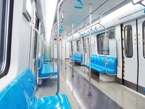 深圳地铁车辆内装