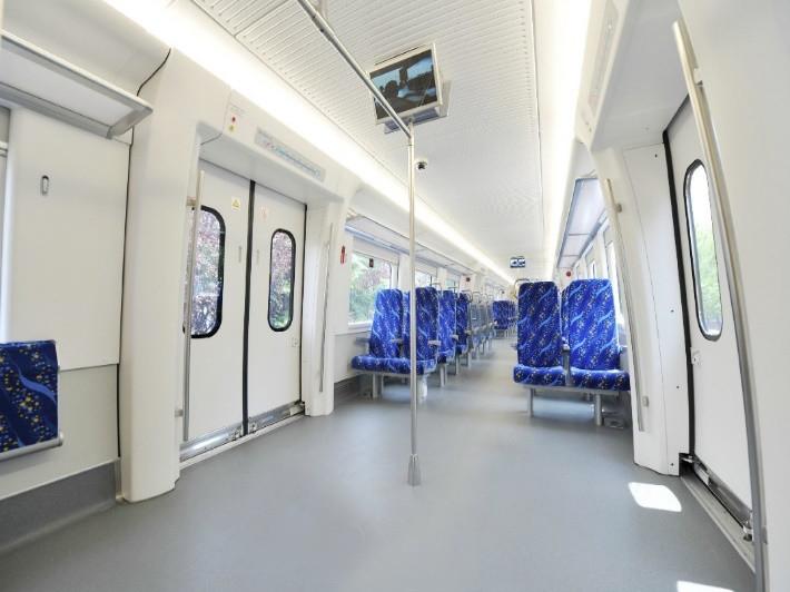 昆山轨道车辆领域(地铁站台)